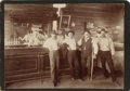 Western Expansion:Cowboy, Wild West Saloon Great Signage ca 1890s -...