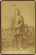 "Photography:Cabinet Photos, Native American Indian ""Chief Gall,"" by D. F. Barry, ca .1890s...."