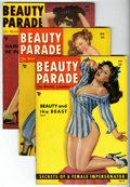 Magazines:Vintage, Beauty Parade Group (Beauty Parade, Inc., 1949-54) Condition: Average VG+.... (Total: 6 Comic Books)