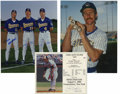Autographs:Photos, Jim Palmer Signed Photograph and Brewers Signed Photograph.Beautiful 11x14 color photograph of signed by Jim Gantner, Rob...