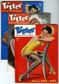 Magazines:Vintage, Titter Group (Titter, Inc., 1945-49) Condition: Average VG.... (Total: 3 Comic Books)