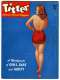 Magazines:Vintage, Titter V1#1 (Titter, Inc., 1943) Condition: VG....