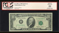 Error Notes:Ink Smears, Fr. 2027-A $10 1985 Federal Reserve Note. PCGS Apparent About New53.. ...