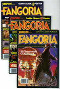 Magazines:Science-Fiction, Fangoria #1-10 and 200 Group (Starlog Press, 1979-01) Condition:Average FN+.... (Total: 11 Comic Books)