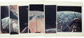 """Transportation:Space Exploration, Gemini 11 - Collection of Twelve Official NASA Photos. All are 8"""" x 10"""" original color glossies with red NASA image numbers ... (Total: 12 Item)"""