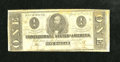 Confederate Notes:1863 Issues, T62 $1 1863.. . ...