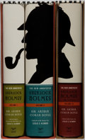 Books:Mystery & Detective Fiction, Sir Arthur Conan Doyle. The New Annotated Sherlock Holmes. New York: Norton, [2005-2006]. First edition of this ... (Total: 3 Items)