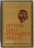 Books:Books about Books, Edna St. Vincent Millay. Letters of Edna St. Vincent Millay. New York: Harper, [1952]. First edition. Publisher's bi...