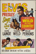 "Movie Posters:Elvis Presley, Wild in the Country (20th Century Fox, 1961). One Sheet (27"" X41""). Elvis Presley.. ..."