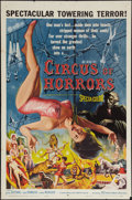 "Movie Posters:Horror, Circus of Horrors (American International, 1960). One Sheet (27"" X 41""). Horror.. ..."