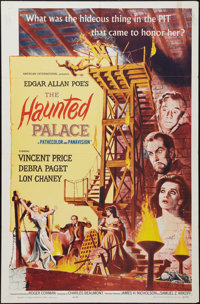 """The Haunted Palace (American International, 1963). One Sheet (27"""" X 41"""") and Program (13"""" X 18""""). Ho..."""