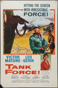 "Movie Posters:War, Tank Force (Columbia, 1958). One Sheet (27"" X 41""). War.. ..."