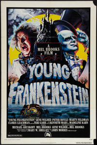 """Young Frankenstein (20th Century Fox, 1974). One Sheet (27"""" X 41"""") Style B. Comedy"""
