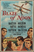 "Movie Posters:Action, Blaze of Noon (Paramount, 1947). One Sheet (27"" X 41""). Action....."