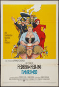 "Movie Posters:Comedy, Amarcord (Warner Bros., 1974). Argentinean Poster (29"" X 43""). Comedy.. ..."