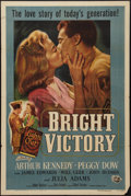 "Movie Posters:Drama, Bright Victory (Universal International, 1951). One Sheet (27"" X41""). Drama.. ..."