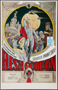 "Movie Posters:Sexploitation, Flesh Gordon (Porter Ltd., 1974). One Sheet (23"" X 35.5"").Sexploitation.. ..."