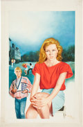 Original Comic Art:Covers, Enric (Enric Torres-Prat) The Nancy Drew Files: Sisters inCrime Cover Illustration Original Art (Simon Pulse, 198...
