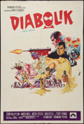 "Movie Posters:Crime, Danger: Diabolik (Paramount, 1968). Argentinean One Sheet (29"" X43"") Crime.. ..."