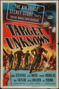 "Movie Posters:War, Target Unknown (Universal International, 1951). One Sheet (27"" X41""). War.. ..."