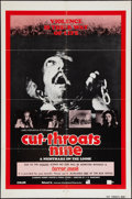 "Movie Posters:Thriller, Cut-Throats Nine & Others Lot (Ambassador Pictures, 1973). OneSheets (2) (27"" X 41""), Military One Sheet (28"" X 40""), Half ...(Total: 10 Items)"
