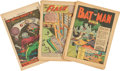 Golden Age (1938-1955):Miscellaneous, Comic Books - Assorted Coverless Golden and Silver Age Comics Box Lot (Various Publishers, 1943-63) Condition: Incomplete....