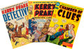 Golden Age (1938-1955):Crime, Kerry Drake Detective Cases File Copies Group (Harvey, 1948-55) Condition: Average VF/NM.... (Total: 14 Comic Books)
