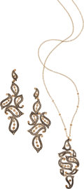 Estate Jewelry:Suites, Colored Diamond, Gold Jewelry Suite, H. Stern. ...
