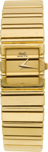 Estate Jewelry:Watches, Piaget Lady's Gold Polo Wristwatch, modern. ...