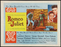 "Movie Posters:Drama, Romeo and Juliet (United Artists, 1954). Half Sheet (22"" X 28""). Drama.. ..."