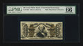 Fractional Currency:Third Issue, Fr. 1329 50¢ Third Issue Spinner PMG Gem Uncirculated 66 EPQ.. ...