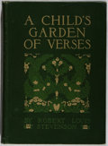 Books:Children's Books, Robert Louis Stevenson. A Child's Garden of Verses.Illustrated by Florence Edith Storer. New York: Scribner's, ...