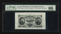 Fractional Currency:Third Issue, Fr. 1275SP 15¢ Third Issue Wide Margin Face PMG Gem Uncirculated 66.. ...
