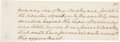 Autographs:U.S. Presidents, George Washington Autograph Partial Draft of His InauguralAddress....