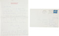 Autographs:Celebrities, Jacqueline Kennedy Autograph Letter Signed...