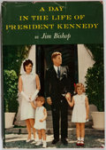 Books:Americana & American History, Jim Bishop. A Day in the Life of President Kennedy. RandomHouse, 1964. First printing. Very good in a slightly ...