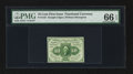 Fractional Currency:First Issue, Fr. 1243 10¢ First Issue PMG Gem Uncirculated 66 EPQ.. ...