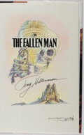 Books:Mystery & Detective Fiction, Tony Hillerman. SIGNED WITH DRAWING. The Fallen Man.HarperCollins, 1996. First edition, first printing. Signe...