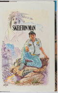 Books:Mystery & Detective Fiction, Tony Hillerman. SIGNED WITH DRAWING. Skeleton Man.HarperCollins, 2004. First edition, first printing. Signed ...