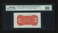Fractional Currency:Third Issue, Fr. 1273SP 15¢ Third Issue Wide Margin Back PMG Gem Uncirculated 66 EPQ.. ...