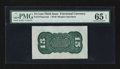 Fractional Currency:Third Issue, Fr. 1272SP 15¢ Third Issue Wide Margin Back PMG Gem Uncirculated 65 EPQ.. ...