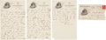 Autographs:Letters, 1923 Walter Johnson Handwritten Signed Letter to Clyde Milan....