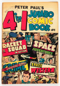 Golden Age (1938-1955):Miscellaneous, Peter Paul's 4 in 1 Jumbo Comic Book #1 (Charlton, 1953) Condition: VG/FN....
