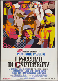 "The Canterbury Tales (United Artists Europa, 1972). Italian 2 - Foglio (39"" X 55""). Drama"