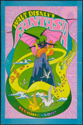 "Movie Posters:Animation, Fantasia (Buena Vista, R-1970). One Sheet (27"" X 41""). Animation....."