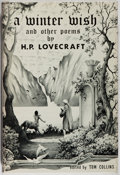 Books:Literature 1900-up, H. P. Lovecraft. A Winter Wish. [Chapel Hill]: Whispers Press, 1977. First edition. Publisher's binding, dust jacket...
