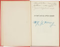 """Autographs:Others, Circa 1952 Cy Young Signed """"At Bat with the Little League"""" Book...."""