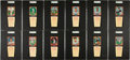 Baseball Cards:Sets, 1958 Hires Root Beer Complete Set (66) - #1 on the SGC SetRegistry!...