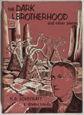 Books:Horror & Supernatural, H. P. Lovecraft and Divers Hands. The Dark Brotherhood and OtherPieces. Sauk City: Arkham House, 1966. First ed...