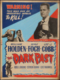 "Movie Posters:Crime, The Dark Past (Columbia, 1949). Poster (30"" X 40"") Style Z. Crime....."